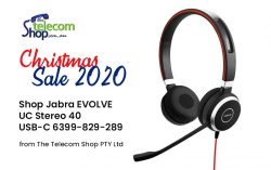 Shop Jabra EVOLVE 40 UC Stereo USB-C 6399-829-289 from The Telecom Shop PTY Ltd