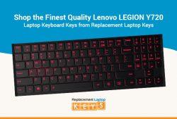 Shop the Finest Quality Lenovo LEGION Y720 Laptop Keyboard Keys from Replacement Laptop Keys