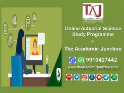 Online Actuarial Science Study Programme