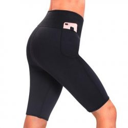 Women Weight Loss Pants Neoprene Exercise Leggings Sauna Suit