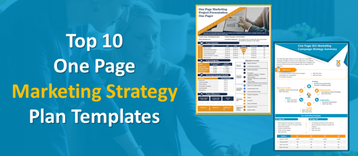 Top 10 One Page Marketing Strategy Plan PowerPoint Templates to Ramp Up Your Sales!
