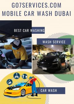 Mobile Car Wash Service|Best Car Wash Service Dubai