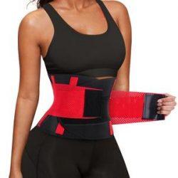 Velcro Workout Slimming Belt Stomach Waist Trainer For Women -Nebility