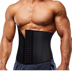 Waist Trainer Belt for Men Fat Burning Shaper Workout Trimmer Band