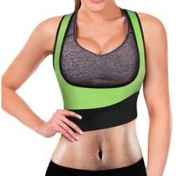 Women Sauna Sweat Vest For Weight Loss Gym Workout Body Shaper – Nebility