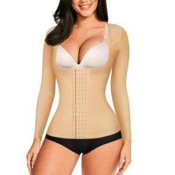 Nebility Women Tummy Control Upper Arm Shaper Post Surgical Compression Tops