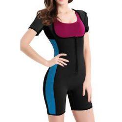 Women's Full Body Shaper Sport Sweat Neoprene Bodysuit – Nebility