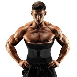 Men Aauna Sweat Waist Trainer Slimming Belt