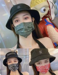 Brand vans gucci nike cloth mask and surgical mask