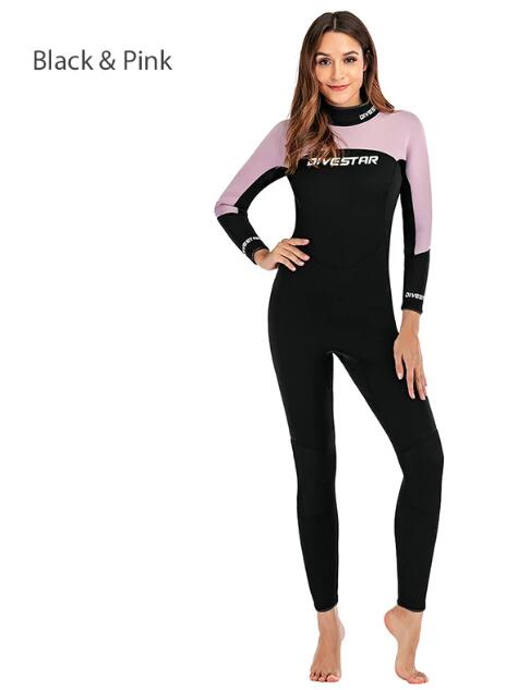 ZCCO Womens 3MM Full Body Scuba Diving Wetsuit