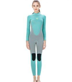 SLINX Womens Full Wet Suit 3MM Freedive Wetsuit