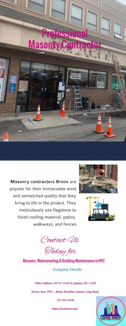 Hiring professional masonry contractor in NYC