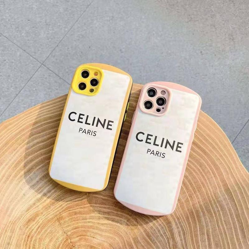 セリーヌ ブランドマウス型スマホケース Iphone12/12mini/12pro/12promaxケースシンプル ジャケット 女 ...