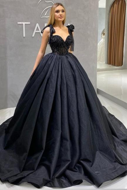 Prinzessin Brautkleider Günstig   Hochzeitskleid Schwarz