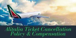 Alitalia Flight Cancellation Policy