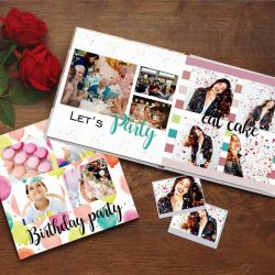 Custom Photo Book Online Design Photo Album Birthday Gifts