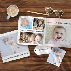 Custom Photo Book Online Design Photo Album For Newborn