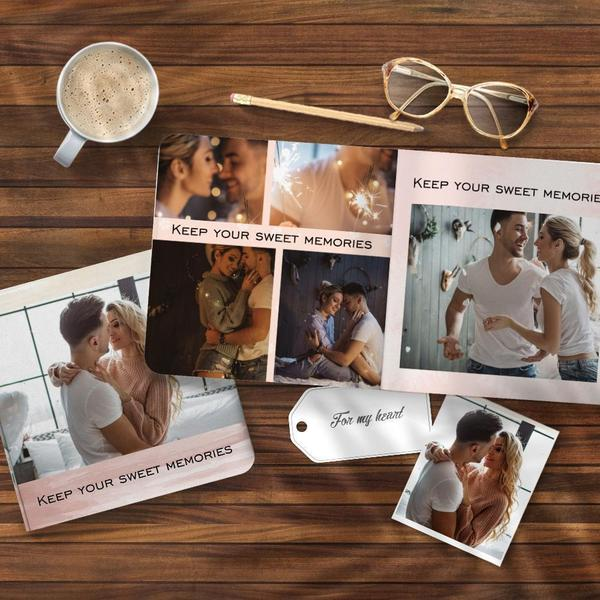 Custom Photo Book Online Design Photo Album Anniversary Gifts