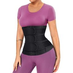 BRABIC Sauna Workout Waist Trainer with 3 Straps