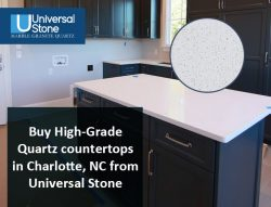 Buy High-Grade Quartz countertops in Charlotte, NC from Universal Stone