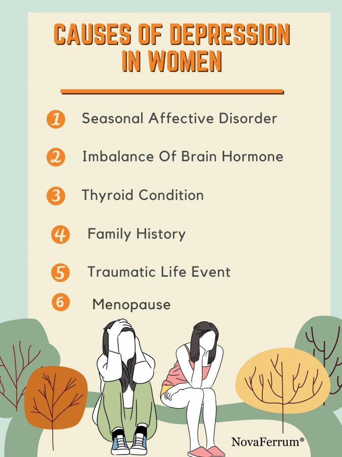 Do You Know the Causes of Depression in Women?