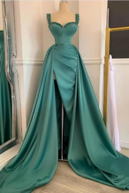 Grüne Abendkleider Lang Günstig | Abiballkleider Online Kaufen