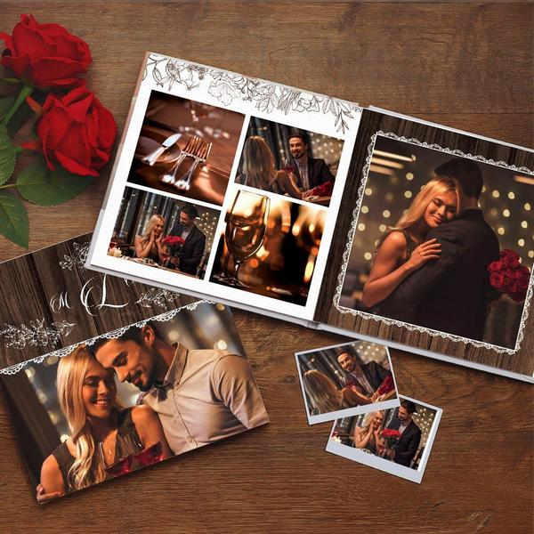 Custom Photo Book Online Design Couple Photo Album
