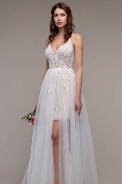 Schlichtes Hochzeitskleid Günstig | Boho Wedding Dresses