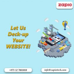Website Redesign in Dubai | Zapio Technology