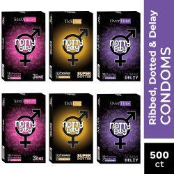 NottyBoy Mix Variety Condoms Pack – Buy Bulk Condoms Online