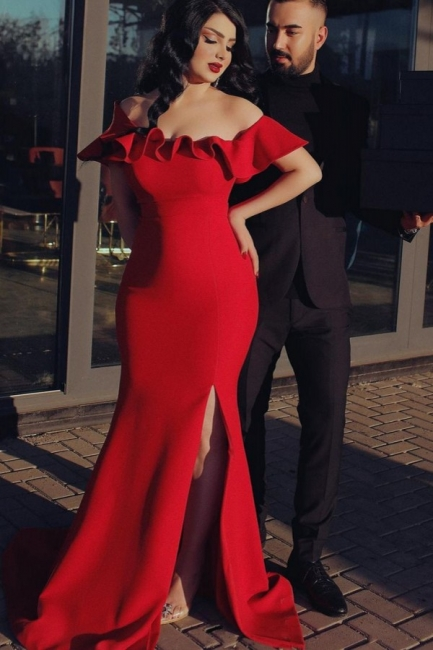 Rote Abiballkleider Günstig | Abendkleider Lang