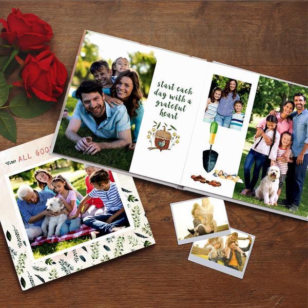 Custom Photo Book Online Design Family Photo Album