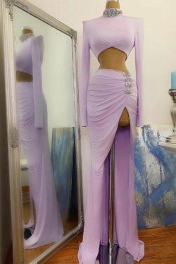 Sexy Abiballkleider Lang Günstig | Abendkleider mit Ärmel
