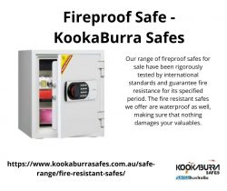 Foreproof Safe – KookaBurra Safes