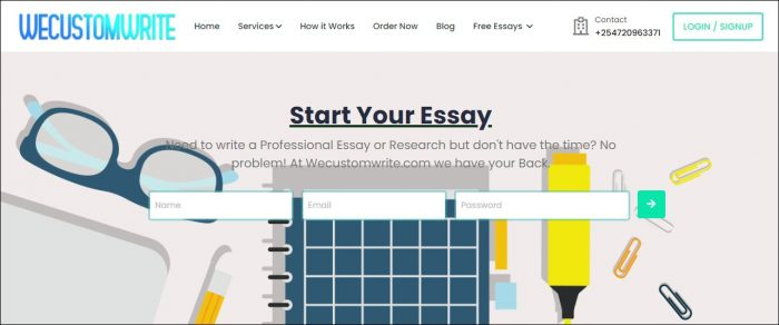 Free Essays Writing services