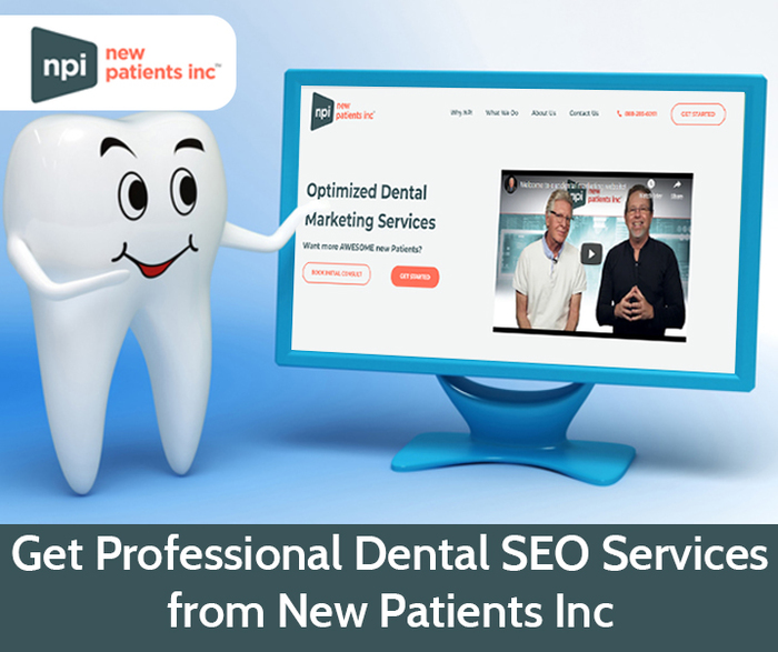 Get Professional Dental SEO Services from New Patients Inc