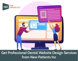Get Professional Dental Website Design Services from New Patients Inc