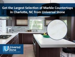 Get the Largest Selection of Marble Countertops in Charlotte, NC from Universal Stone