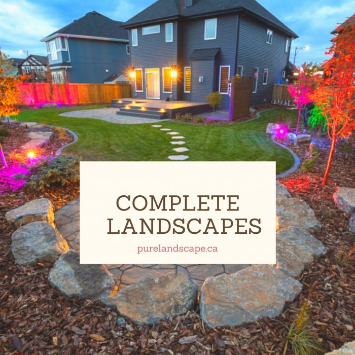 Landscaping company – Complete landscapes