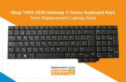Shop 100% OEM Gateway S Series Keyboard Keys from Replacement Laptop Keys