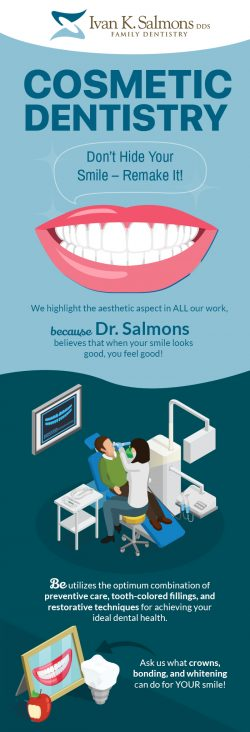 Contact Dr. Ivan K. Salmons, DDS for Brighten Your Smile with Cosmetic Dentistry in Sioux City, IA