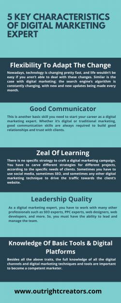 5 Key Characteristics Of Digital Marketing Expert