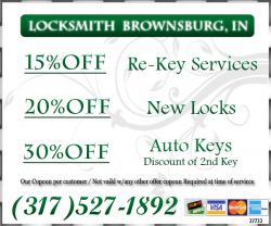 Locksmith Brownsburg IN