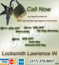 Locksmith Lawrence IN