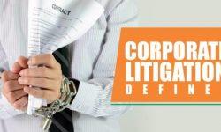 Meaning of Corporate Litigation | Franklin I. Ogele