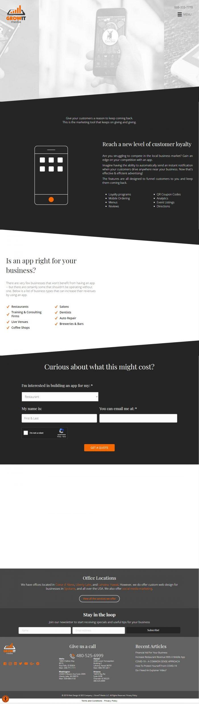 Mobile app development arizona