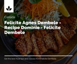 Felicite Agnes Dembele – Black Entrepreneur – Felicite Dembele