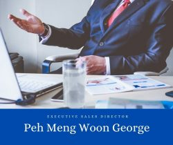 Peh Meng Woon George – Executive Sales Director – George Peh