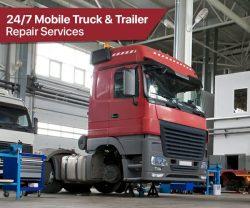 Professional 24/7 Mobile Truck and Trailer Repair Services in Brampton