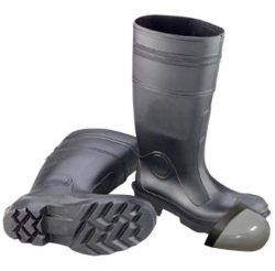 pvc boots with steel toe from China manufacturer